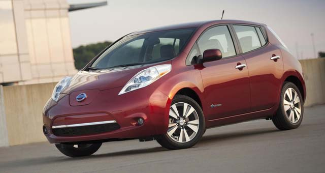 2014 nissan leaf pricing announced. Black Bedroom Furniture Sets. Home Design Ideas