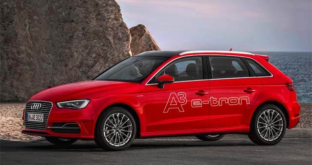 Audi A3 Sportback e-tron Sales Start in Europe