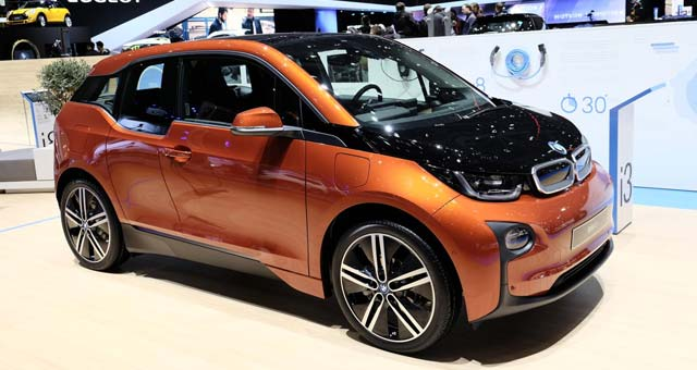 BMW i3 Named 2014 World Green Car of the Year