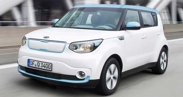 Kia Soul EV Named 2015 Car of the Year in Norway