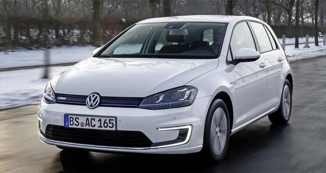 Volkswagen e-Golf Order Book Opens in the UK