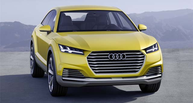Plug-in Hybrid Audi TT Offroad Concept Revealed