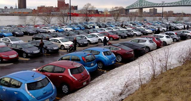Montreal Sets New EV Record: 431 Plug-In Electric Vehicles In One Place
