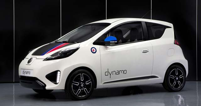 MG Reveals Dynamo EV Concept in London