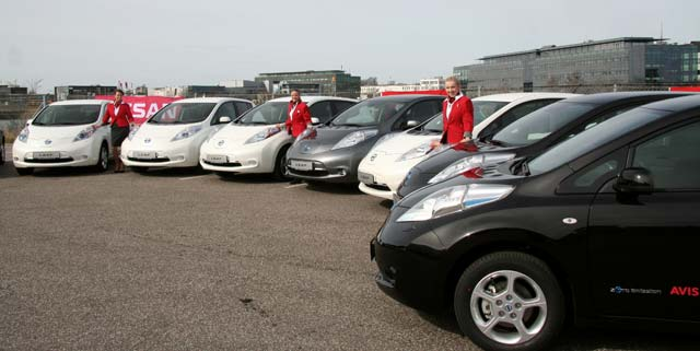LEAF Enjoys Surge In Demand As Nissan Fleet Sales Boom
