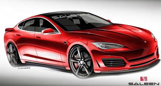 Saleen Tesla Model S Revealed