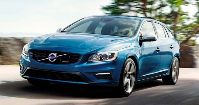 Volvo V60 Plug-in Hybrid Now Available in R-Design Specification