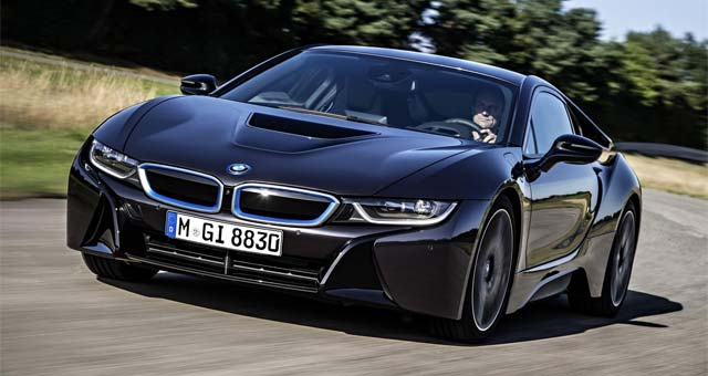 BMW i8 Named UK Car of the Year for 2015