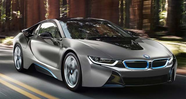 BMW i8 Concours d'Elegance Edition Previewed Ahead of Pebble Beach