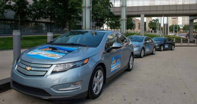 Chevrolet Volt Teams With MBAs Across America