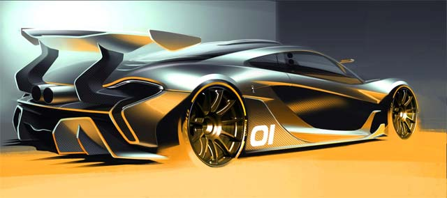 McLaren to debut $3.3M P1 GTR Model at Pebble Beach
