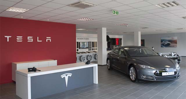 Tesla Opens Store And Service Centre In West London
