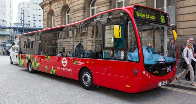 London to Trial Wireless Recharging Diesel Plug-In Hybrid Buses
