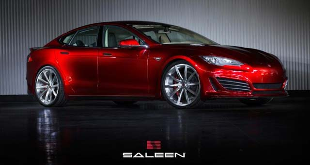 The All-Electric Saleen FOURSIXTEEN Model S Unveiled