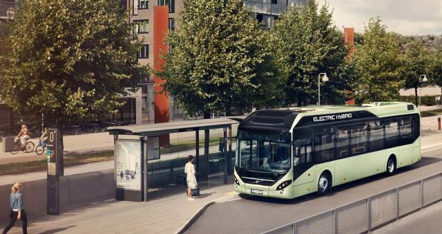 Volvo Launches the all-new 7900 Electric Hybrid Bus