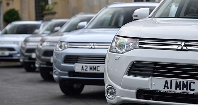 Outlander PHEV Scoops BusinessCar 'Green Award'