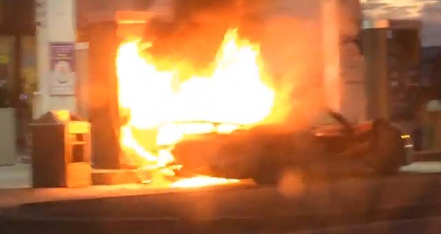 Porsche 918 Spyder Catches Fire In Toronto [video]