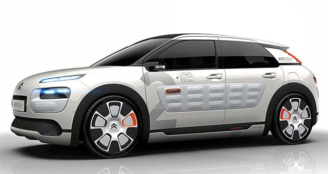 Citroen C4 Cactus AIRFLOW 2L Concept Revealed
