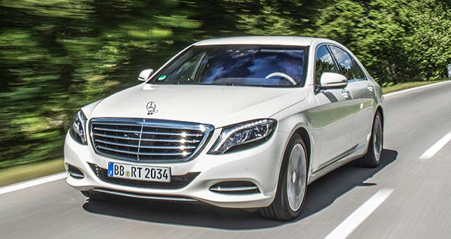 The New Mercedes-Benz S 500 PLUG-IN HYBRID