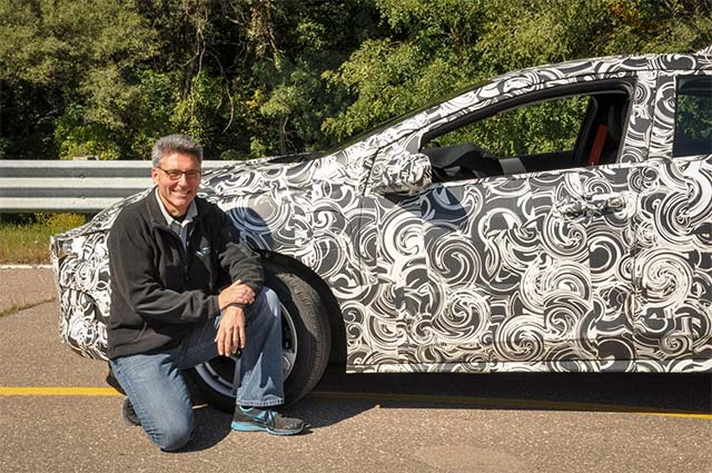 Camouflaging 2016 Chevrolet Volt is Balancing Act