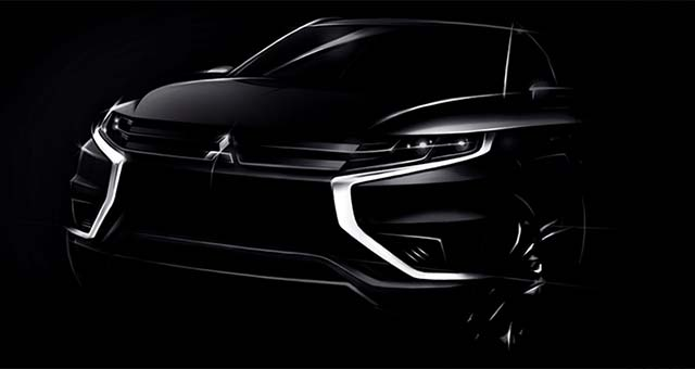 2014 Paris Preview: Mitsubishi Outlander PHEV Concept-S
