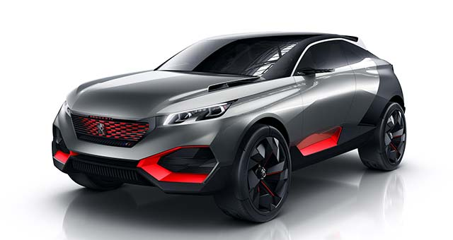 Peugeot QUARTZ PHEV Concept SUV Revealed