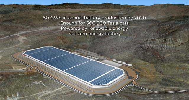 Panasonic Establishes New Lithium-ion Battery Unit at Tesla Gigafactory