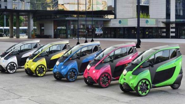 Toyota i-Road Enters Tokyo Car-Sharing Service With Park24