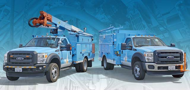 PG&E, EDI Unveil PHEV Utility Trucks Capable of Shortening or Eliminating Electric Outages