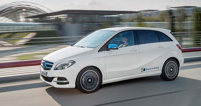 New B-Class Electric Drive Priced at £31,950 in the UK