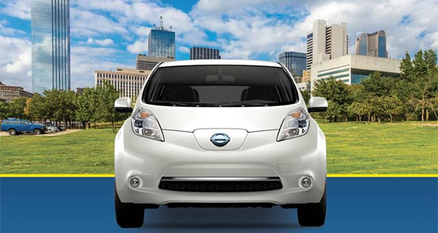 Huge Infographic: Top Five Reasons To Drive A Nissan LEAF