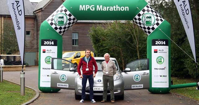 Electric Vehicles Complete Successful MPG Marathon