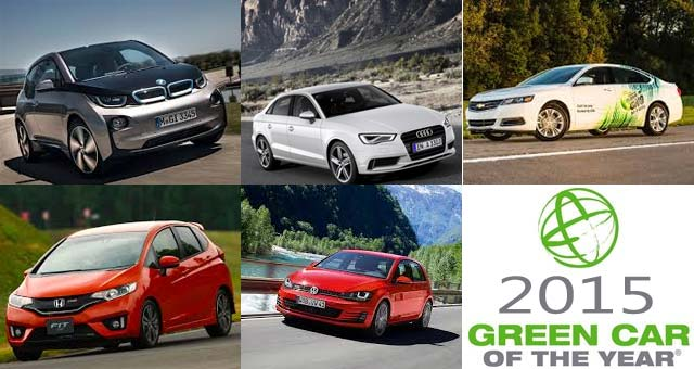 BMW i3 Among 2015 Green Car Of The Year Finalists