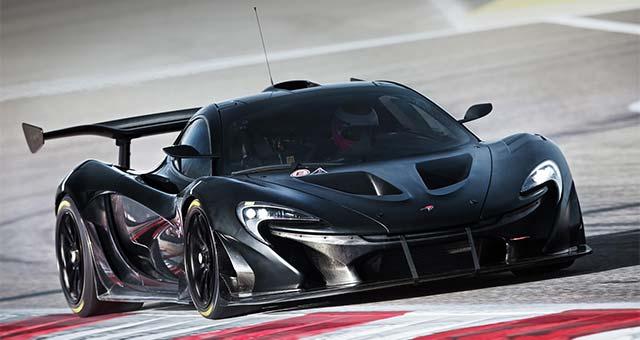McLaren P1 GTR Interior Revealed