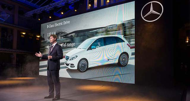 Mercedes-Benz Shows New B-Class Electric Drive and S 500 PLUG-IN HYBRID in Paris