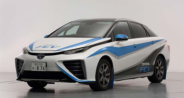 Trailblazing Toyota FCV to Feature in Final Stage of 2014 Japanese Rally Championship