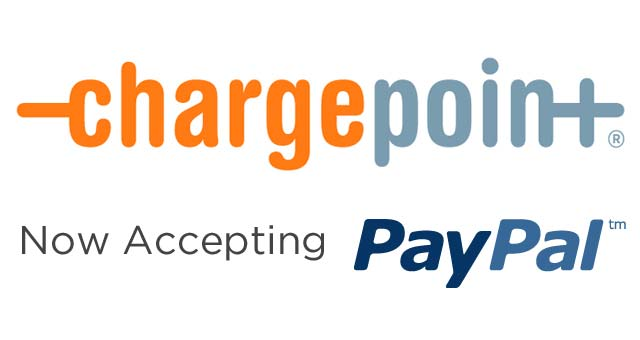 ChargePoint Now Accepts PayPal as Payment Option