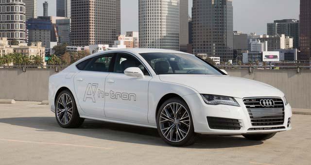 Audi A7 Sportback h-tron quattro Unveiled at LA Auto Show
