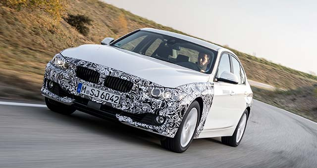 BMW Reveals 3 Series Plug-In Hybrid Prototype