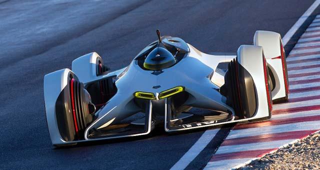 LA Auto Show: Chaparral 2X VGT Concept