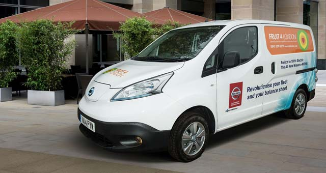 Video: Fruit 4 London Happy with e-NV200 Testing