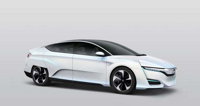 Honda FCV Concept to Make North American Debut in Detroit