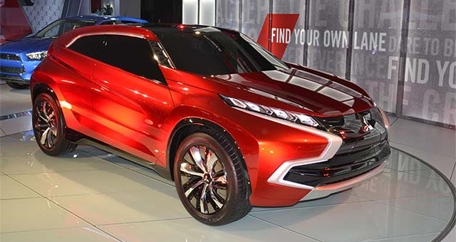Mitsubishi Concept XR-PHEV Makes North American Debut in LA
