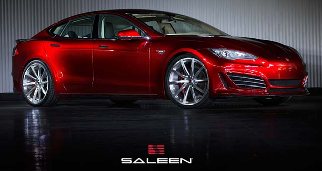Saleen Delivers the First Saleen Tesla Model