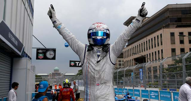 Sam Bird Wins the Putrajaya ePrix