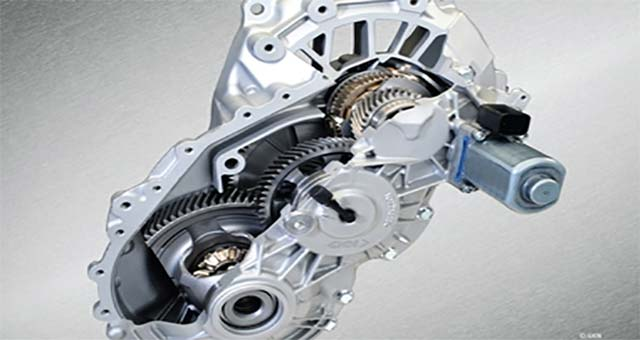 GKN Produces World's First Two-Speed eAxle for and EVs