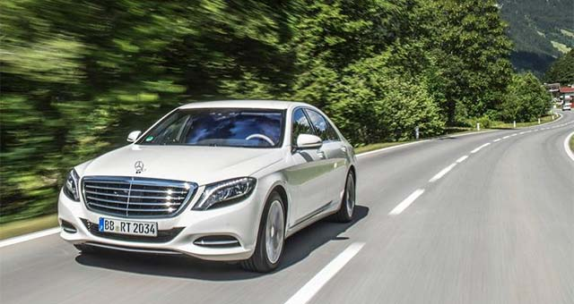 The New Mercedes-Benz S550 PLUG-IN HYBRID