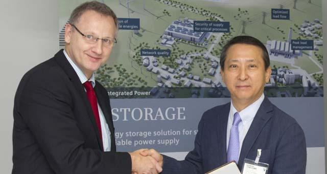 Siemens Partners with LG Chem On Battery Storage Systems