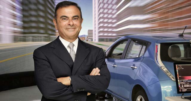 Carlos Ghosn: With Electric Cars Both Consumers and the Environment Win