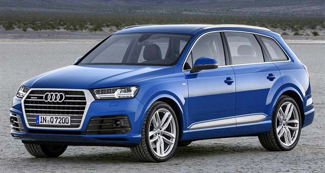 Audi Q7 e-tron quattro Revealed Ahead of Detroit Auto Show